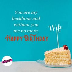 We have covered for you Romantic Happy birthday wishes for wife, funny birthday quotes for wife, best bithday messages, status, greetings with images that you can say and send on her birthday. Wife Birthday Quotes, Birthday Wishes For Wife, Wife Quotes, Love And Respect, Romantic Quotes, Funny Quotes, Messages, Live, Collection
