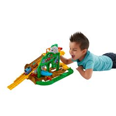Thomas & Friends Take-n-Play Jungle Quest Track Set image-0
