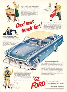Ford advertisement, 1952