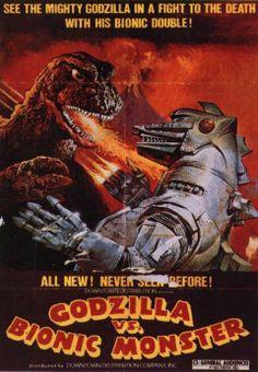 Godzilla vs the Bionic Monster
