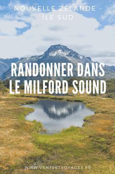Les fjords du Milford Sound, entre kayak et randonnée Les Fjords, Milford Sound, South Pacific, Destinations, Solo Travel, Kayaking, New Zealand, Trek, Things To Do