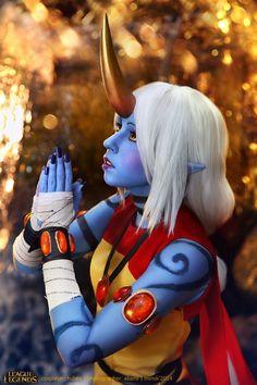 League of Legends - Soraka cosplay by RubeeAmadare.deviantart.com