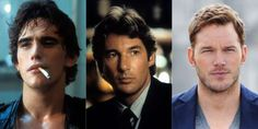 Five decades of heartthrobs. - Getty