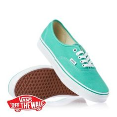 Vans Authentic Shoes - Pool Green True White. Zapatillas MujerZapatos ... 67c6d777fd6