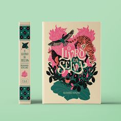 The Jungle Book on Behance. Gorgeous book cover and spine design