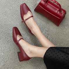 The post Chiko Amatista Square Toe Block Heels Pumps appeared first on Chiko Shoes. Slingback Shoes, Shoes Heels Pumps, Look Office, Black Flats Shoes, Red Flat Shoes, Luxury Shoes, Comfortable Shoes, Girls Shoes, Fashion Shoes