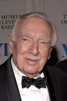 Walter Cronkite. News Anchor: The man America trusted.