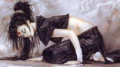 Dark Fantasy Paintings by Luis Royo