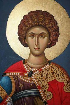 Byzantine Icons, Byzantine Art, Aluminum Foil Art, High Art, Orthodox Icons, Saint George, Ancient Greece, Saints, Christian