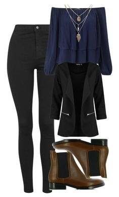 """Davina Claire Inspired Outfit"" by mytvdstyle ❤ liked on Polyvore featuring Topshop, Miss Selfridge, Acne Studios, Boohoo, to, Inspired and TheOriginals"