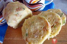 Fotorecept | Hrnčeková knedľa Slovak Recipes, Dumplings, Mashed Potatoes, Side Dishes, Pizza, Eggs, Bread, Cheese, Baking