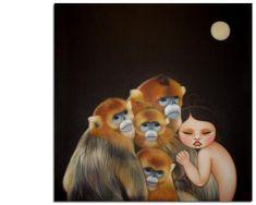 Poh Ling Yeow Magical Pictures, Australian Artists, Illustration Art, Illustrations, Asian Art, Art Forms, Klimt, Journal Ideas, Artwork