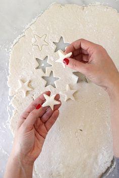 How to make homemade Salt Dough Ornaments plus the recipe.