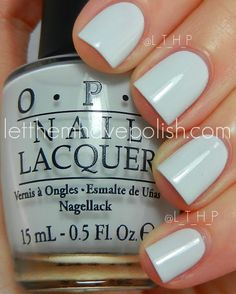 OPI - My Boyfriend Scales Walls *Maybe for toes... If I had a bath g suit that would complement the color*
