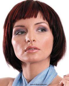 Hair Styles 2012: Short Fringe Hairstyles Photos