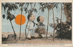 The Daily Postcard: Vintage Tacky Hawaiian