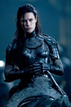 Sonja in riding armour from 'Underworld - Rise of the Lycans  http://www.aceshowbiz.com/images/still/underworld3_13.jpg