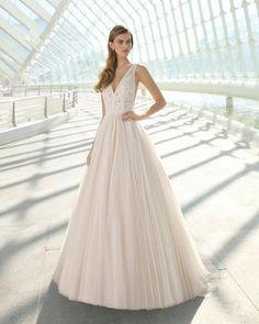 Vestidos de matrimonio de moda 2019