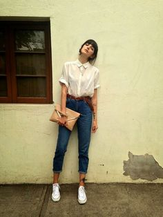 How to wear Mom Jean´s (via Bloglovin.com )