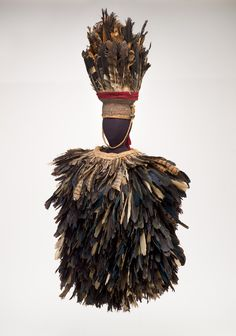 Ceremonial ensemble, Poro culture, Guinea/Liberia, mid-1900's.