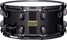 Tama S.L.P. Black Brass Snare Drum 6.5x14