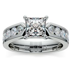When you can't find the words to say, the gorgeous sparkle of the Princess Channel Cathedral Diamond Ring in Platinum will say it all for you--I Love You Forever, and more! ;) http://www.brilliance.com/engagement-rings/channel-cathedral-diamond-ring-platinum-1/2-ctw
