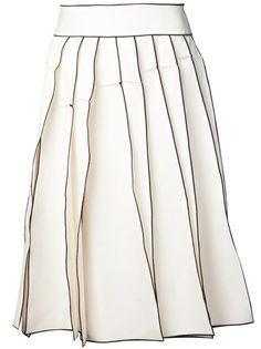 MAISON RABIH KAYROUZ Paneled Skirt #farfetch