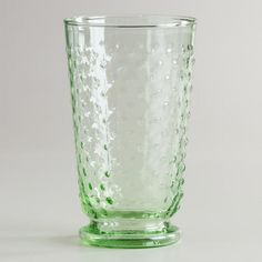 One of my favorite discoveries at WorldMarket.com: Green Hobnail Highball Fashioned Glasses, Set of 4