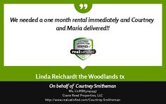 I'm truly honored by this, and smiling from ear to ear.  See more: http://www.realsatisfied.com/Courtney-Smitheman