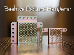 Help fund our Kickstarter and receive a Beehive Picture Hanger for just $5!