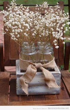 More flowers of course. rustic country wedding centerpieces and ideas rustic ranch weddings reception decor mason jar centerpieces Western Wedding Centerpieces, Wedding Centerpieces Mason Jars, Rustic Wedding Centerpieces, Wedding Reception Decorations, Wedding Themes, Wedding Table, Wedding Ideas, Reception Ideas, Centerpiece Ideas