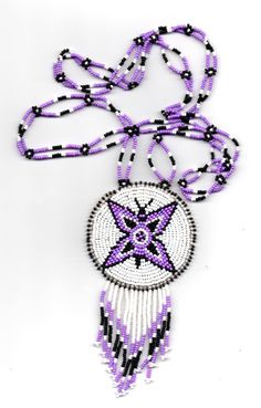 native american butterfly necklacepow-wow por deancouchie en Etsy