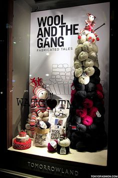 Wool And The Gang Tokyo by tokyofashion, via Flickr