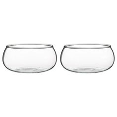 IKEA partnered with Ingegerd Råman to release the VIKTIGT collection. Råman is one of the top ceramic and glass designers in Scandinavia, and while the line includes many beautiful pieces, we're drawn to some of the simplest. These Clear Glass Bowls would be a beautiful addition to any kitchen!