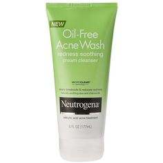 Neutrogena Oil-Free Acne Wash Redness Soothing Cream Cleanser (18 BRL) ❤ liked on Polyvore featuring beauty products, skincare, face care, face cleansers, beauty, accessories, facial cleansers, skin care, neutrogena and oil free face cleanser