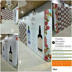 Amazing Possibilities .. One Portable Exhibition Stand with different size combinations... Just Terrific.. mail at portable@tejaswi.biz #fragrances #essentialoils #bathandbody #luxuriousbathandbody #perfumecandles #facialcare #handcare #haircare #Attars #Roomfragrances #welllness