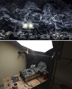 "This Artist Creates Miniature Sets To Shoot ""Outdoor"" Photos - UltraLinx"