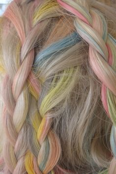 candy colored streaks