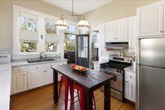 Bright kitchen. San Francisco, Ca. Photo by Reflex Imaging.