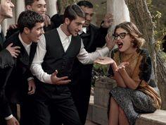 Occhiali da Vista Donna Dolce & Gabbana: Scopri la Campagna Pubblicitaria per la Collezione Autunno Inverno 2014 con Bianca Balti.