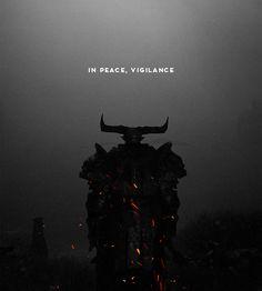 In peace, Vigilance.