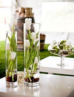 Easter Flower Arrangements, Easter Flowers, Flower Vases, Floral Arrangements, Diy Flower, Flower Centerpieces, Table Centerpieces, Wedding Centerpieces, Easter Table Decorations
