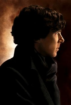 Sherlock by AmandaTolleson on deviantART. I LOVE this artist's paintings!