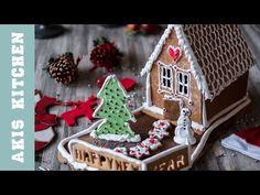 Gingerbread House   Akis Kitchen - YouTube