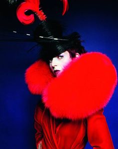 Isabella Blow - photo Mario Testino