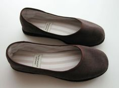 EcoChic Handmade Flats with Natural Rubber Soles  by TheGeneration, $75.00