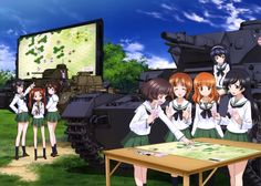 Pictures for Desktop: girls und panzer picture (Trayton Cook 4051x2897)