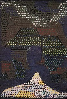 Paul Klee Evening in the Valley 1932 - Reproduction Oil Paintings