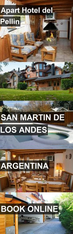 Apart Hotel del Pellin in San Martin De Los Andes, Argentina. For more information, photos, reviews and best prices please follow the link. #Argentina #SanMartinDeLosAndes #travel #vacation #hotel