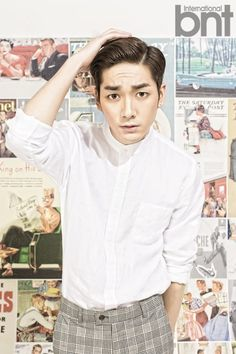 Aron | NU'EST bnt International August 2014